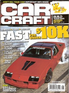 August 2011 Car Craft Cover