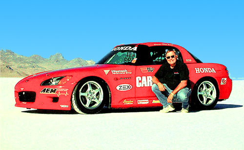 Car Driver Honda G Fuel Modified Sports Record Holder 2003
